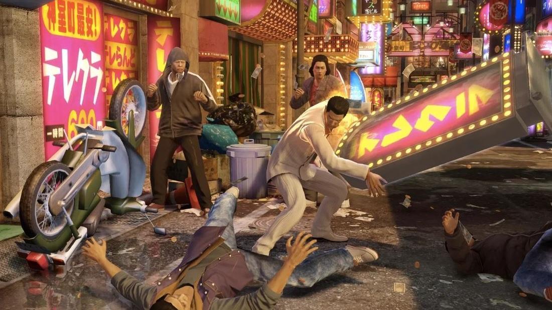 Yakuza 0 скриншот