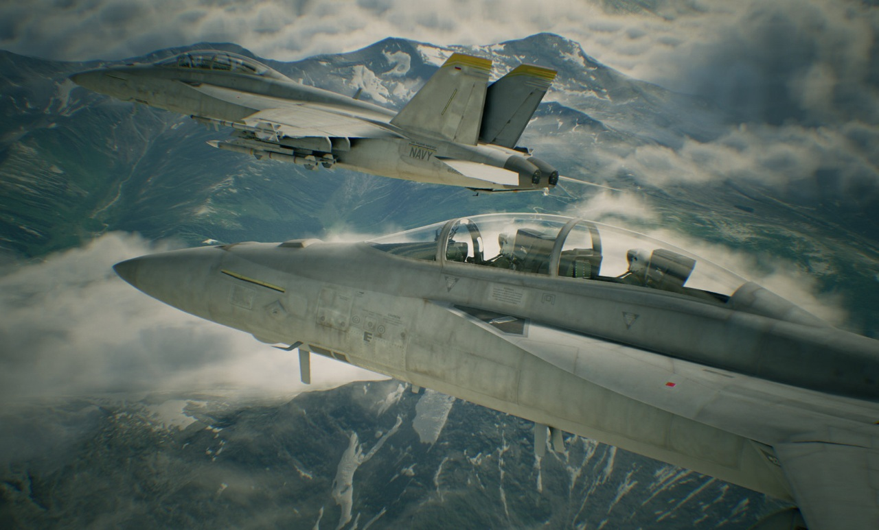 Ace Combat 7: Skies Unknown скриншоты