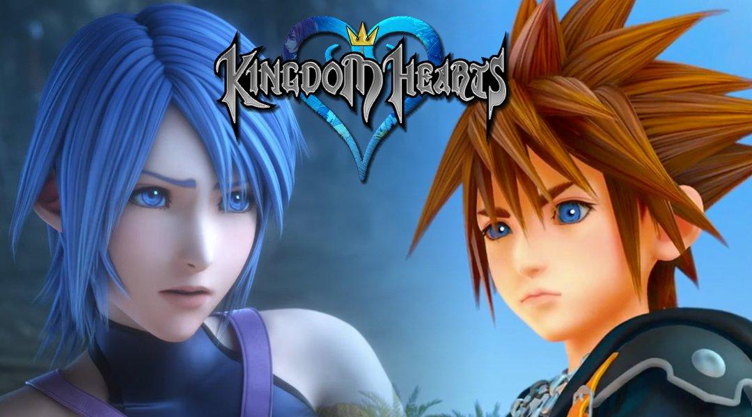 Kingdom Hearts 2.8 скриншоты