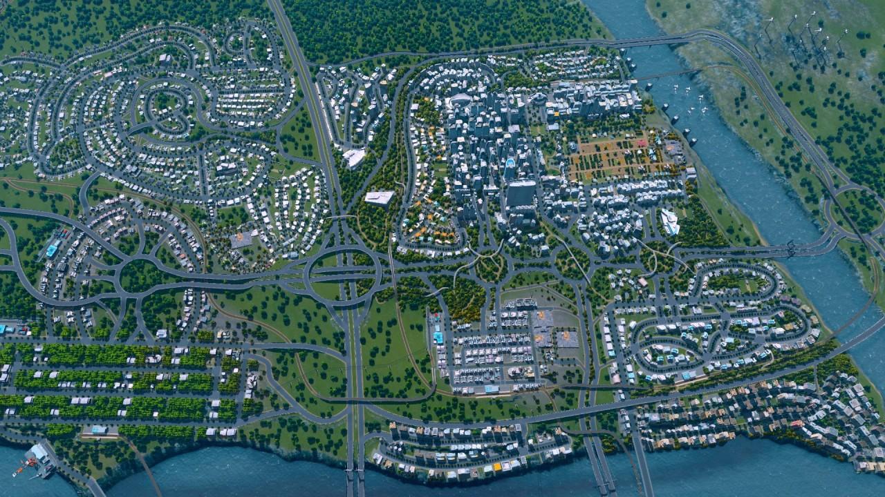 Cities: Skylines скриншоты