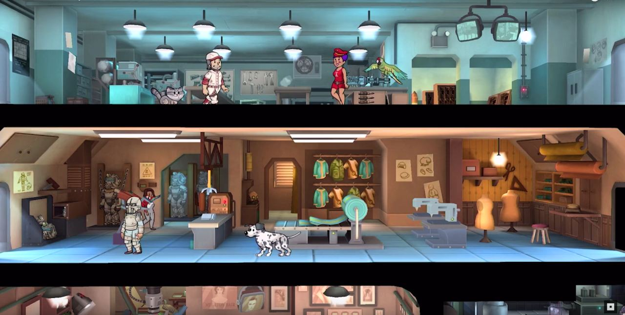 Fallout Shelter скриншоты