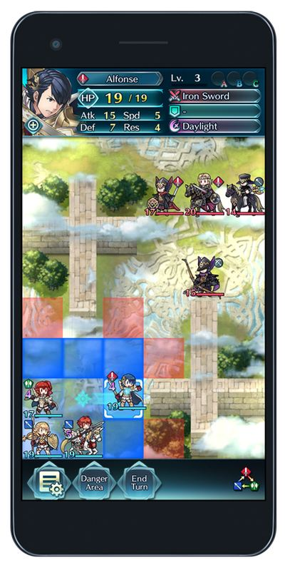 Fire Emblem Heroes скриншоты