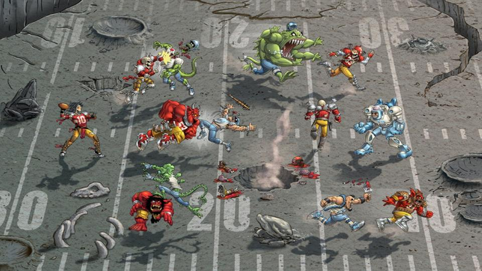 Mutant Football League скрин