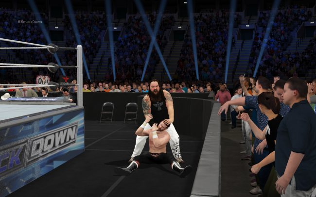 WWE 2k17 скрин