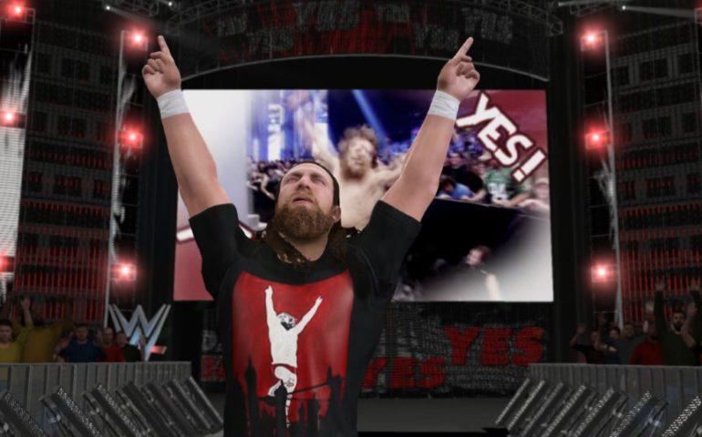 WWE 2k17 геймлей