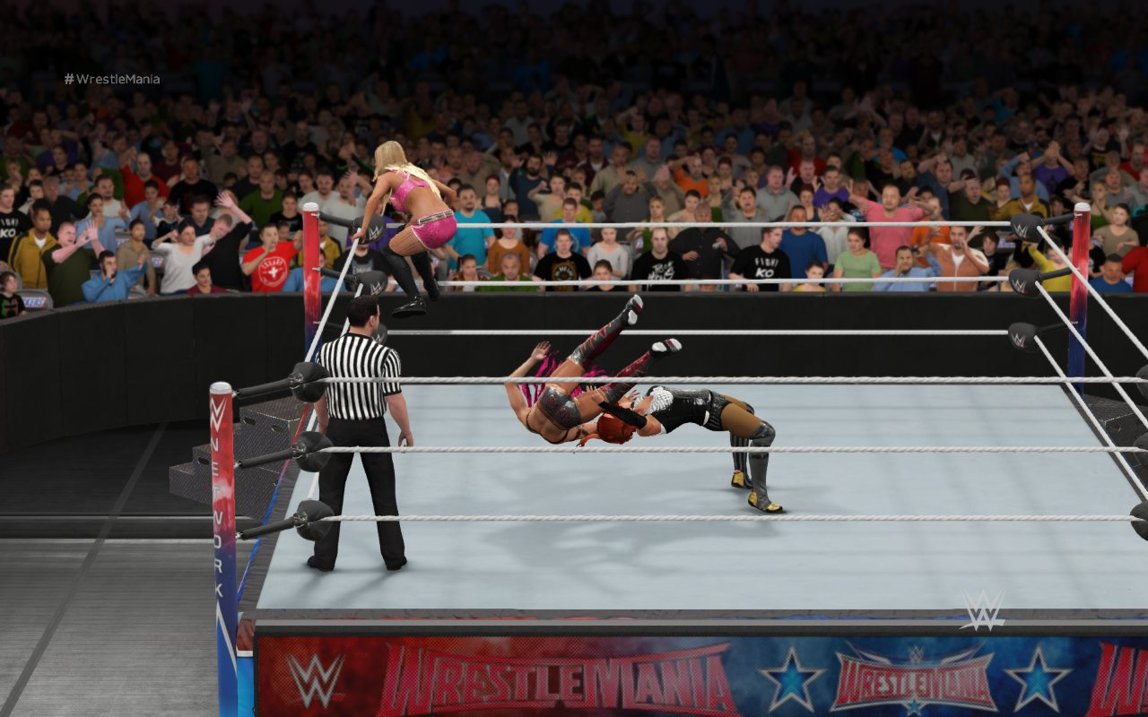 WWE 2k17 скриншот