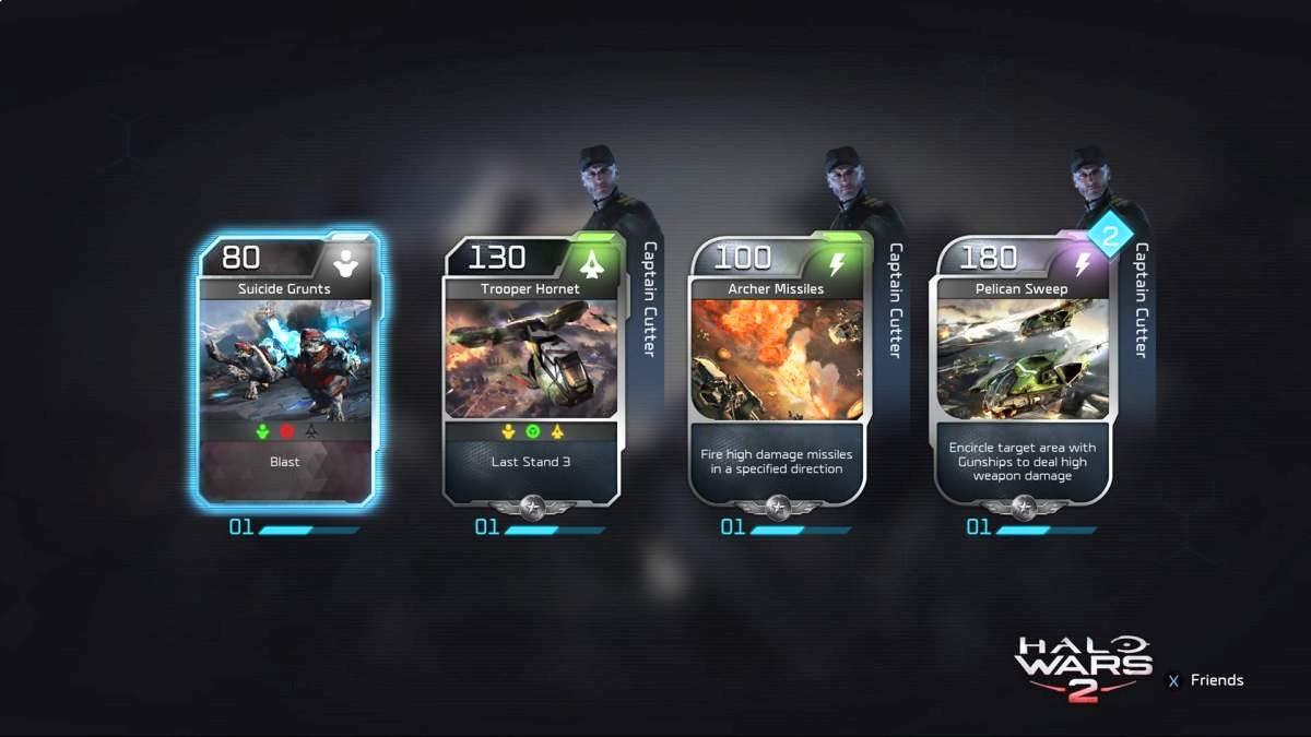 Halo Wars 2 блитз