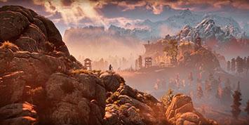 Horizon Zero Dawn скриншоты