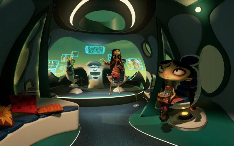 Psychonauts in the Rhombus of Ruin скриншоты