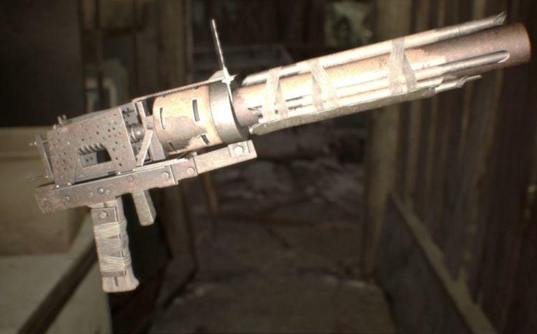 Resident Evil 7 гранатомет