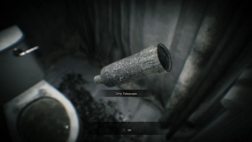 Resident Evil 7 телескоп