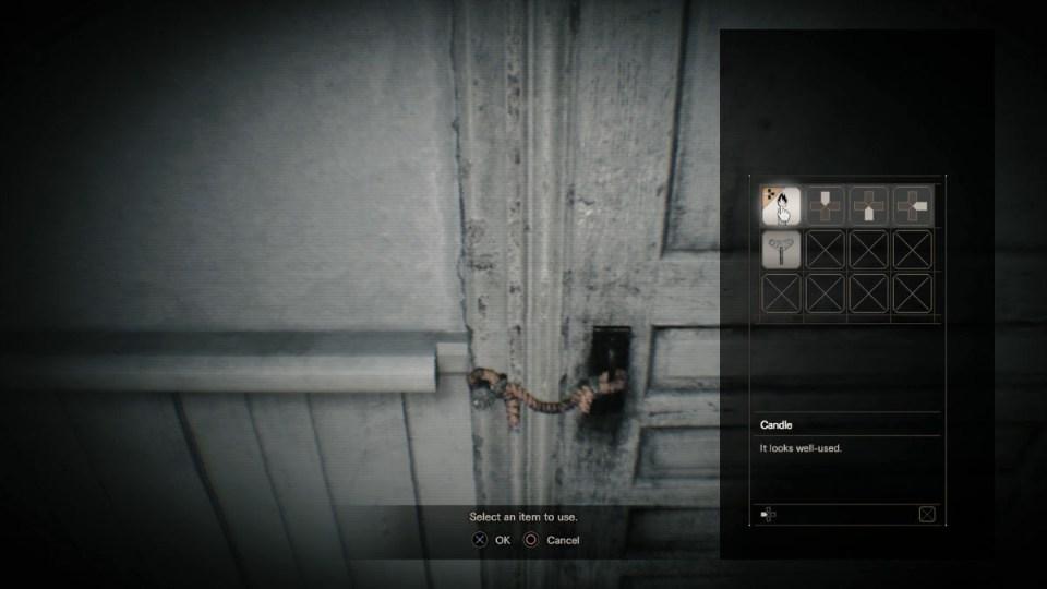 Resident Evil 7 веревка