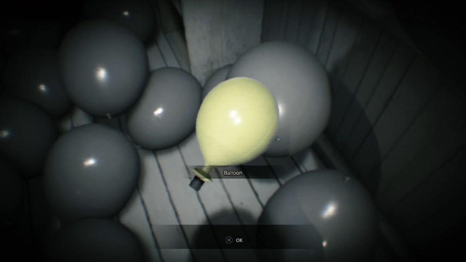 Resident Evil 7 шар