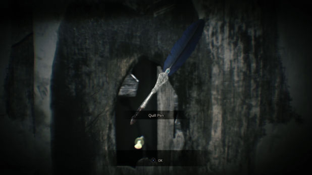 Resident Evil 7 перо