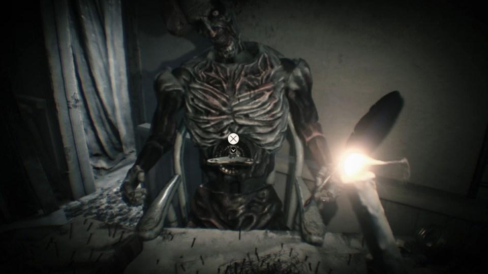 Resident Evil 7 клоун