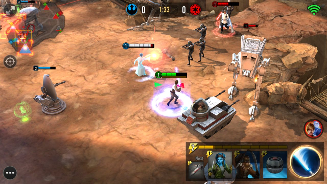 Star Wars Force Arena сюжет
