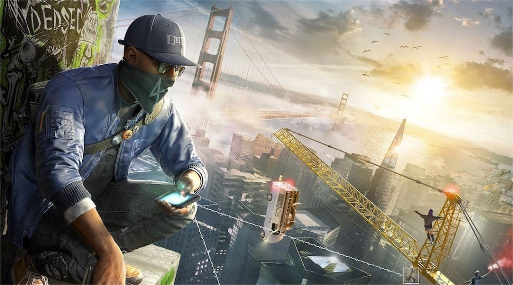 Watch Dogs 2 арт