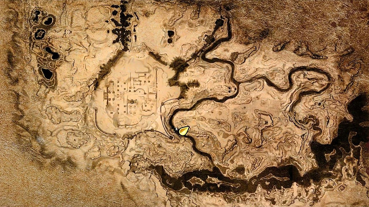 Conan Exiles карта