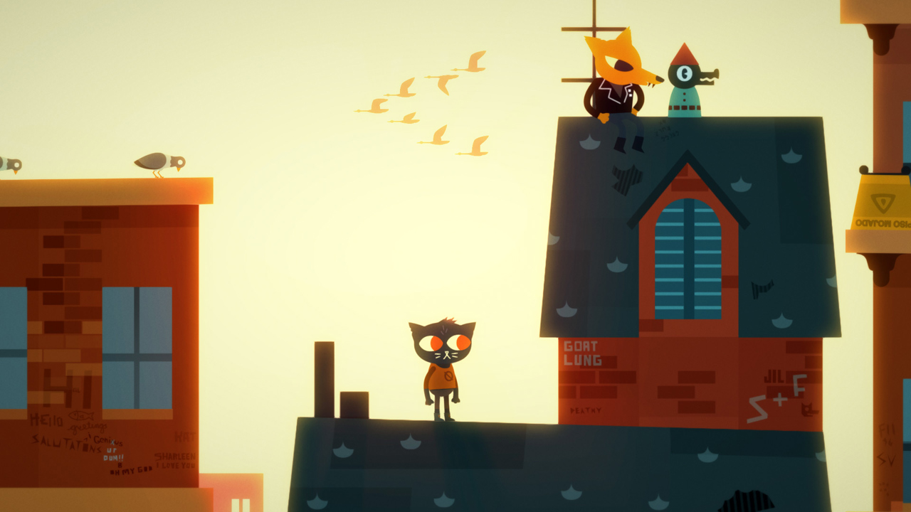 Night in the Woods скриншоты