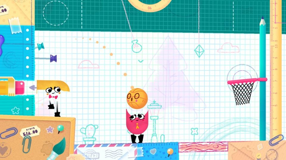 Snipperclips – Cut It Out, Together скриншоты