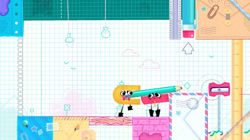 Snipperclips скриншоты