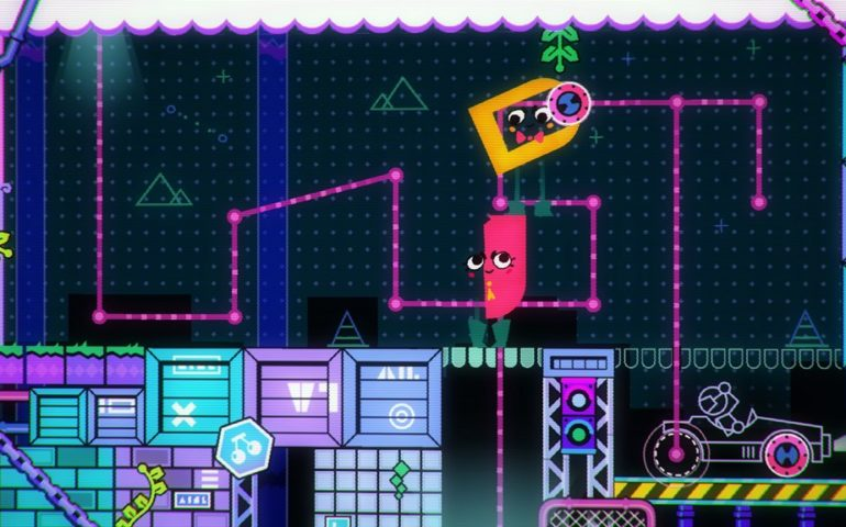 Snipperclips – Cut It Out, Together - Обзор