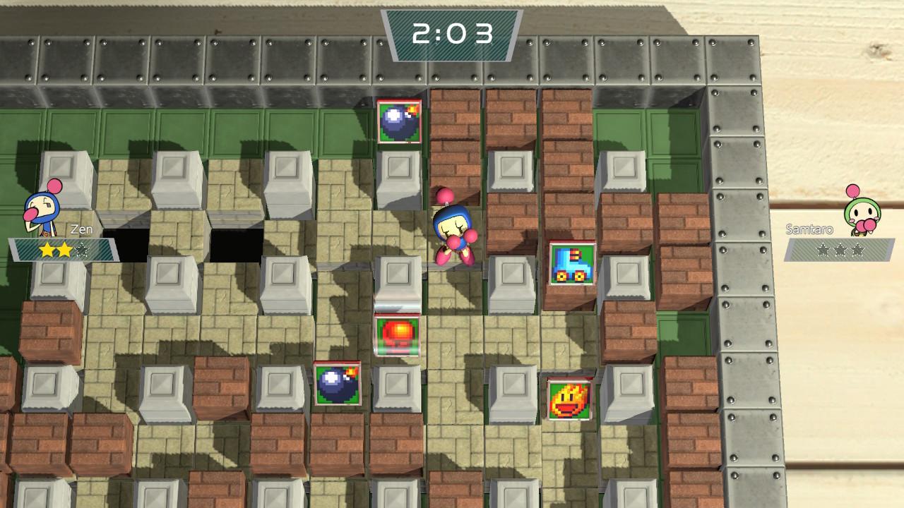 Super Bomberman R скриншоты