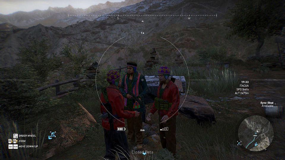 Ghost Recon: Wildlands снайперская винтовка