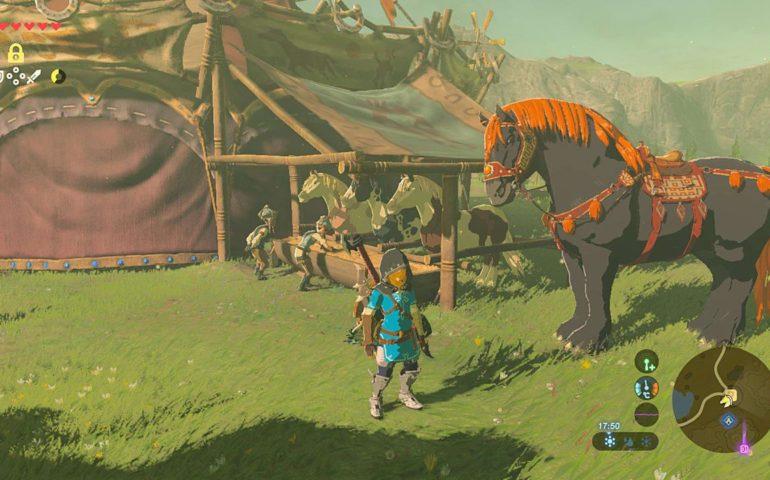 Гигантская лошадь