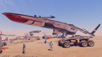видео геймплея Mass Effect: Andromeda
