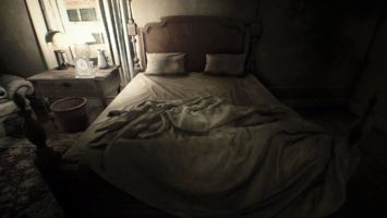 resident evil 7 спальня