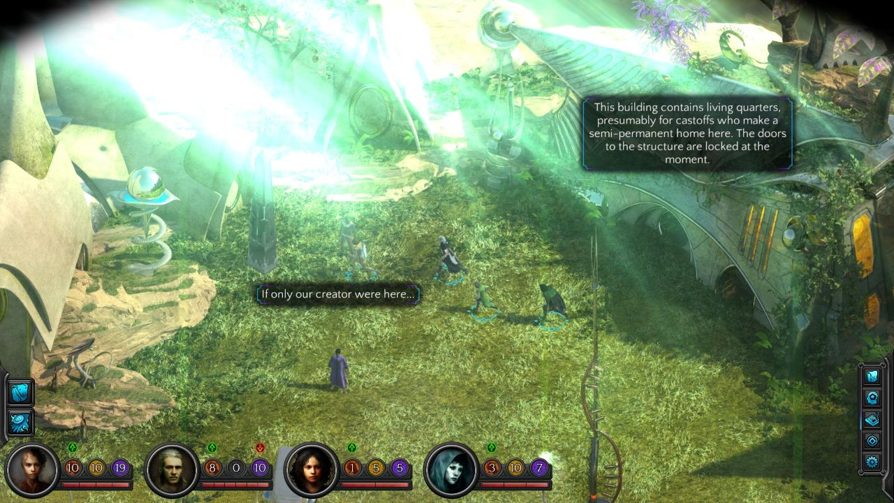 Torment: Tides of Numenera скриншоты