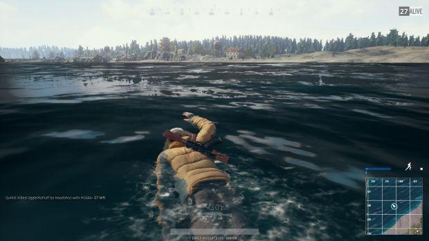 плавание с оружием
