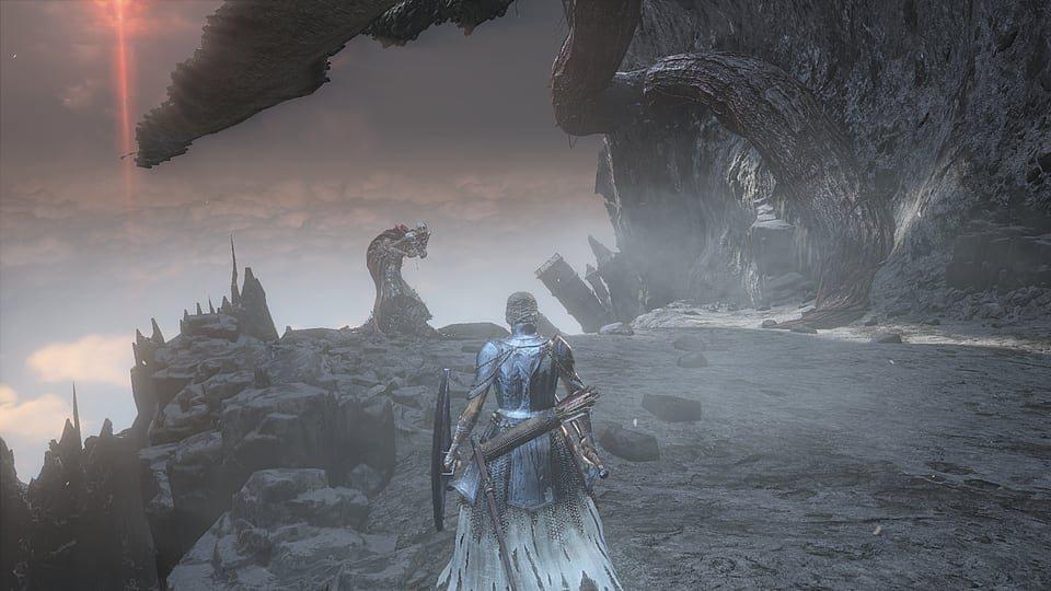 Dark Souls 3 ангелы
