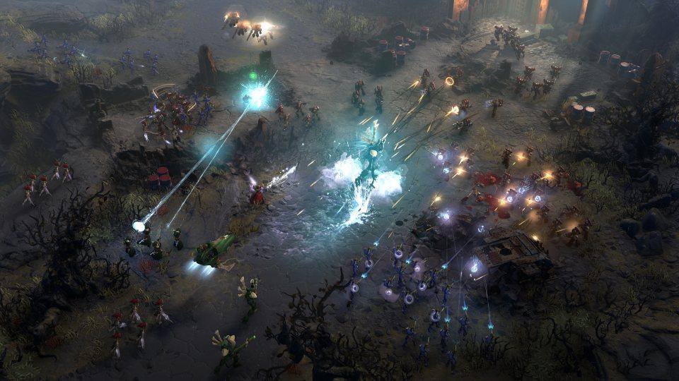 Dawn of War 3 скриншоты