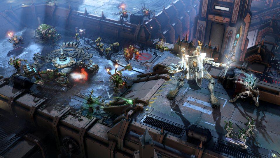 Графика игры Warhammer 40,000 Dawn of War 3