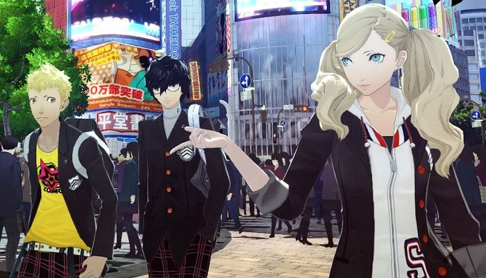 Persona 5 скрин