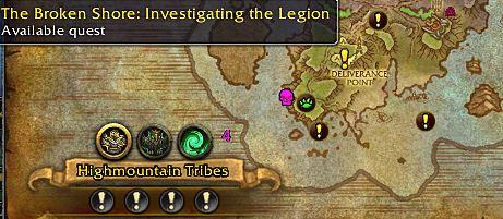 World of Warcraft Legion 7.2