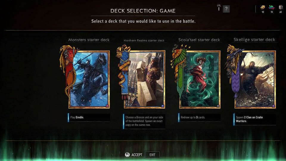 Gwent: The Witcher Card Game фракции