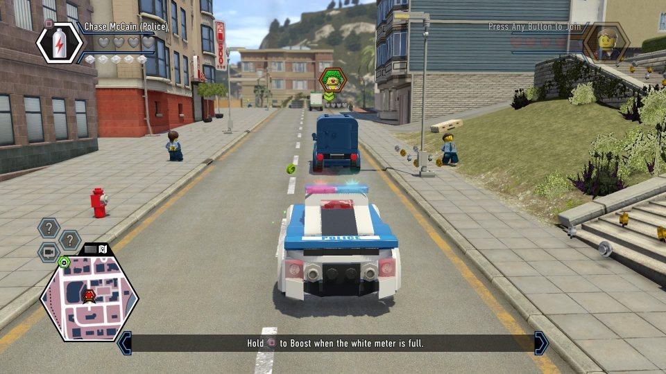 LEGO City Undercover свое дело