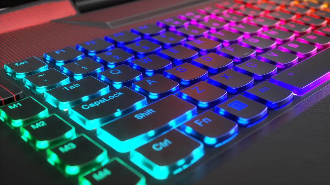 Legion Y920 клавиатура