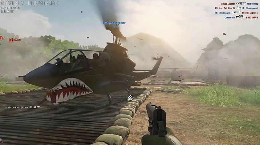 Rising Storm 2: Vietnam вертолет