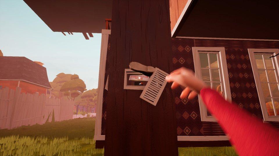 Hello Neighbor Alpha 4 открыть двери