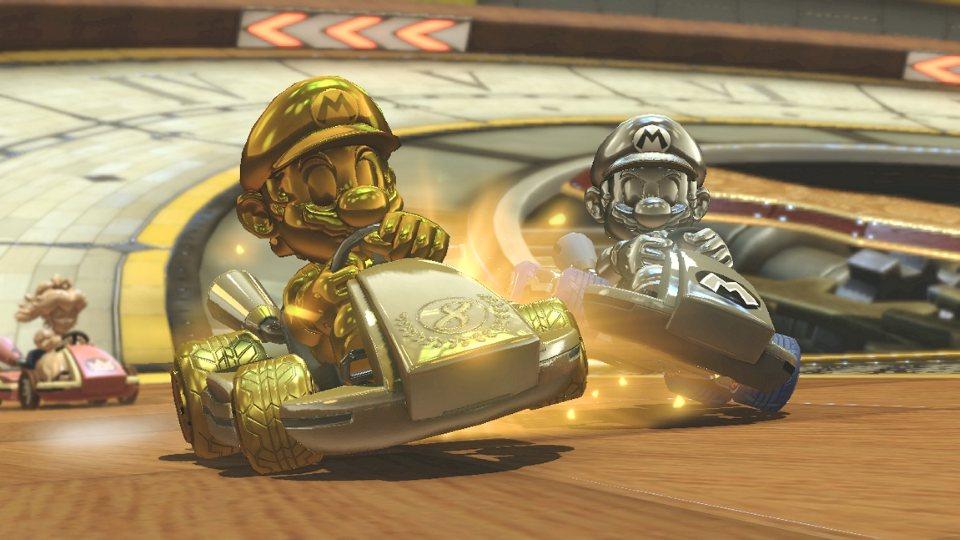 Mario Kart 8 Deluxe советы