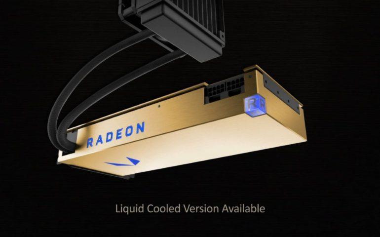 AMD представила видеокарту Radeon Vega Frontier Edition
