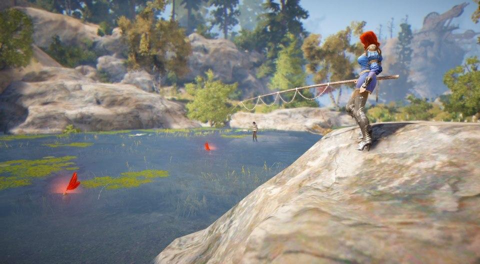 Black Desert Online рыбалка