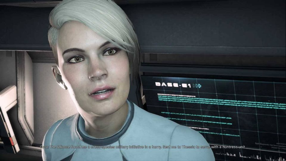Mass Effect Andromeda Кора