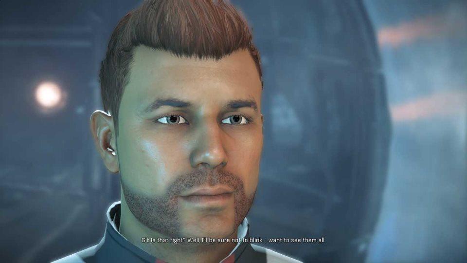 Mass Effect Andromeda джил