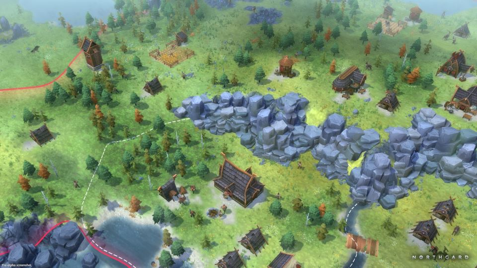 Northgard колонизация