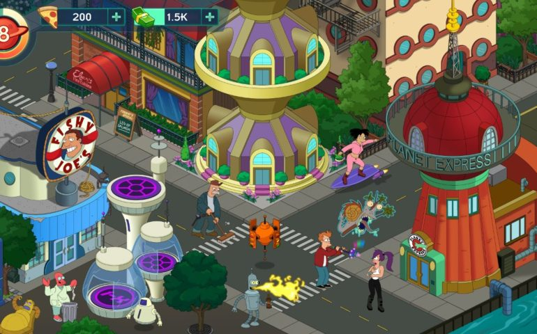 Гайд Futurama: Worlds Of Tomorrow